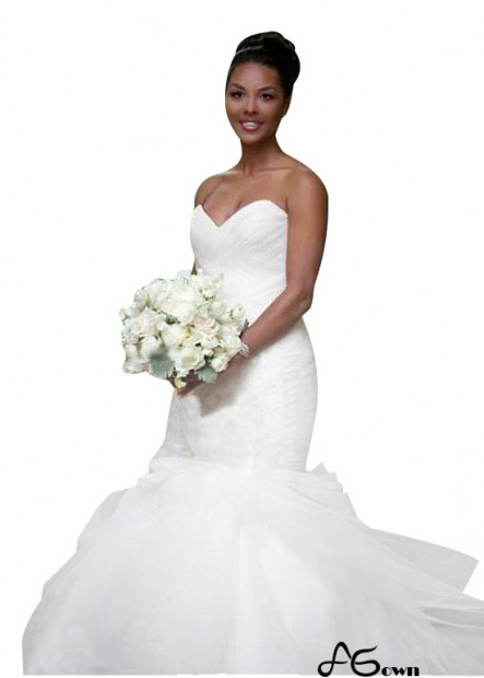 Agown Plus Size Wedding Dress T801525336662