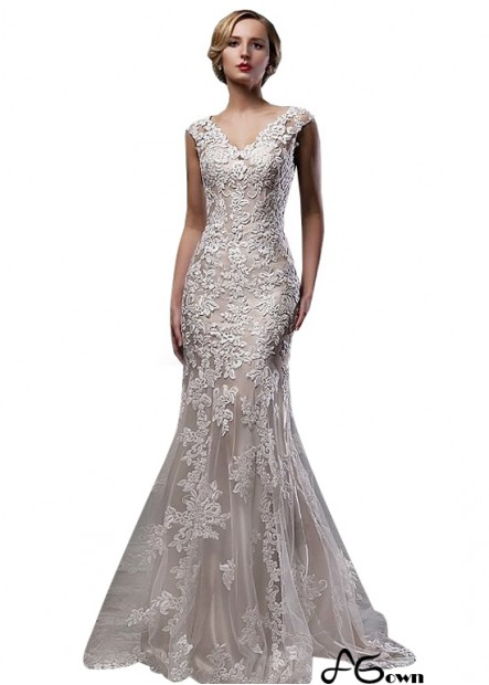 Agown Beach Wedding Dresses T801525317951