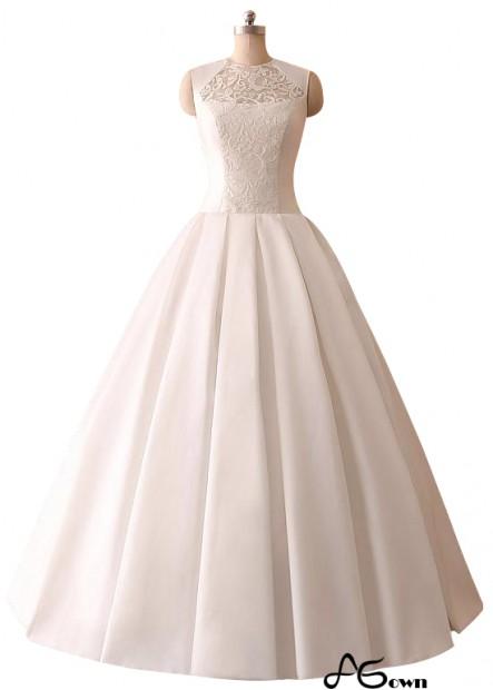 Agown Plus Size Wedding Dress T801525318490