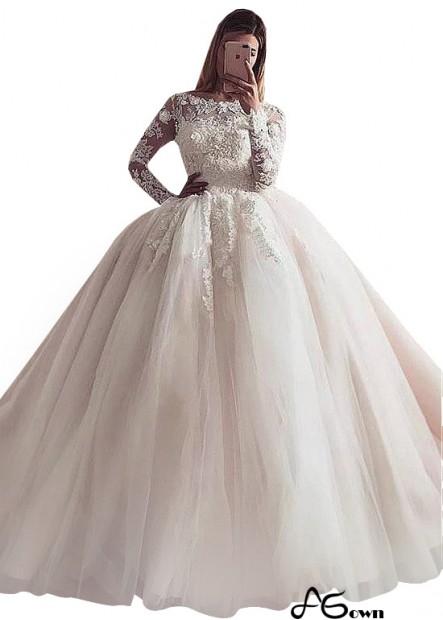 Agown Plus Size Wedding Dress T801525328487