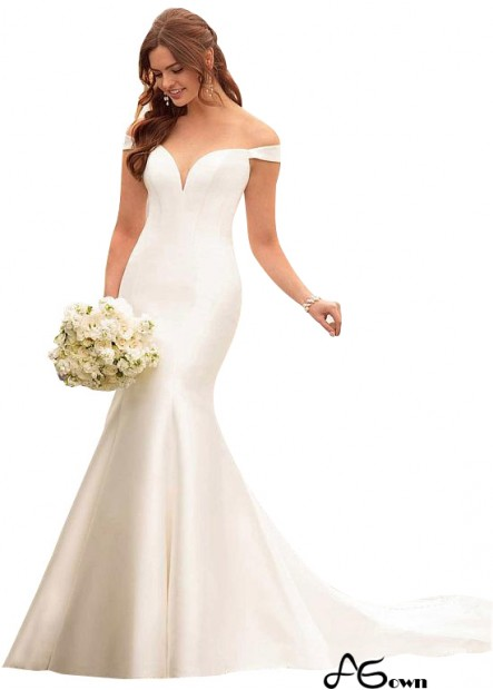 Agown Plus Size Wedding Dress T801525335827