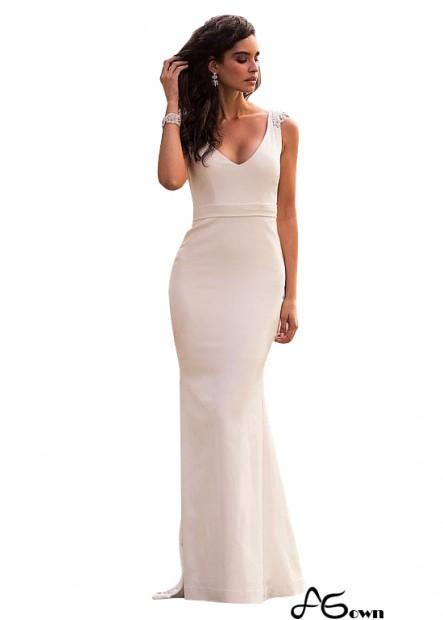 Agown Beach Wedding Dresses T801525317610