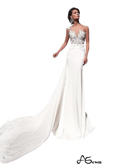 Agown Coast Casual Bridal Beach Wedding Dresses