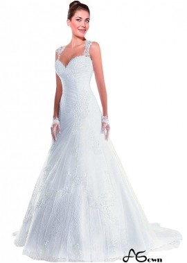agown Lace Wedding Dress T801525386964