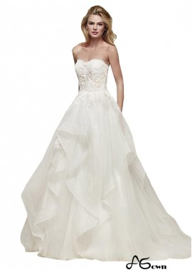 agown Beach Wedding Ball Gowns T801525318190