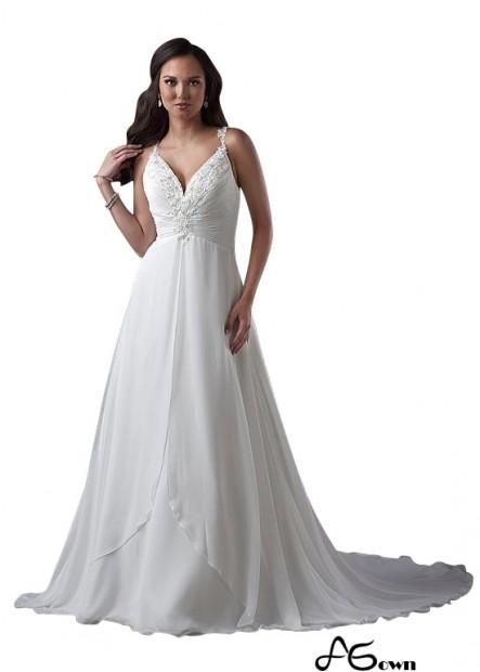 Agown Plus Size Wedding Dress T801525331200