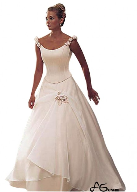 Agown Plus Size Wedding Dress T801525320731