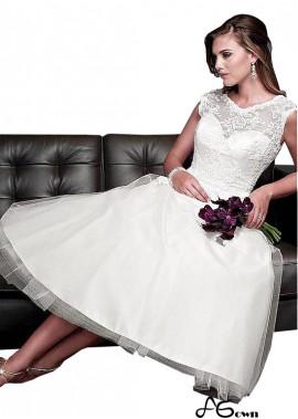 Agown Short Wedding Dress T801525328646