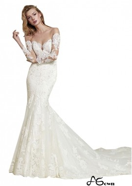 agown Lace Wedding Dress T801525383810