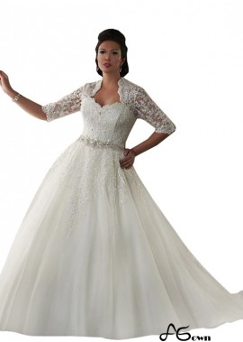 agown Plus Size Wedding Dress T801525325885