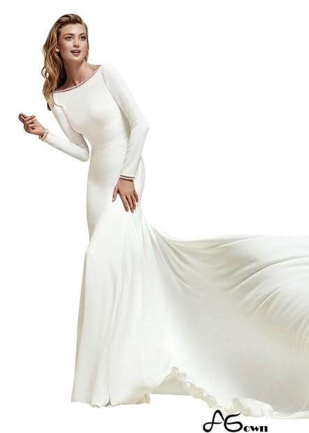 Agown Beach Wedding Dresses T801525329482