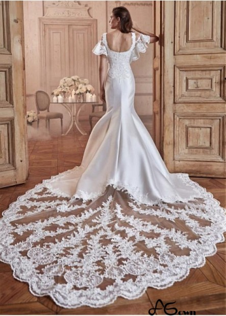 Agown Lace Wedding Dress T801525383786