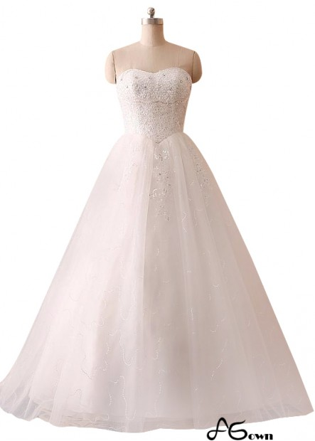 Agown Plus Size Wedding Dress T801525318512
