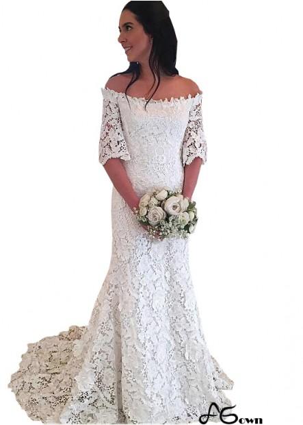 Agown Plus Size Wedding Dress T801525321476