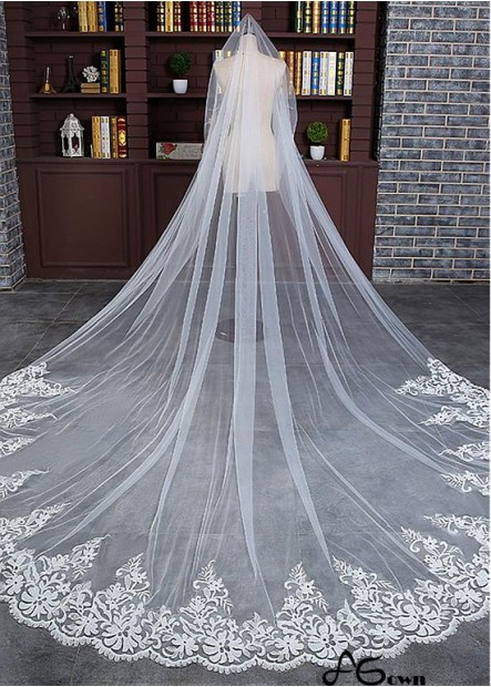 Agown Wedding Veil T801525382049
