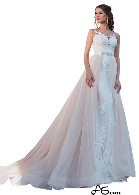 Agown Beach Wedding Ball Gowns T801525337495
