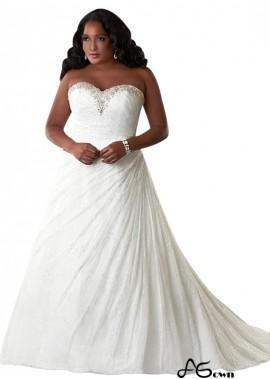Agown Plus Size Wedding Dress T801525325542