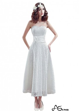 Agown Beach Short Wedding Dresses T801525318580