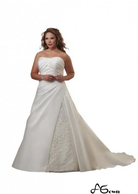 agown Plus Size Wedding Dress T801525329225