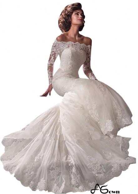 Agown Beach Wedding Dresses T801525317891
