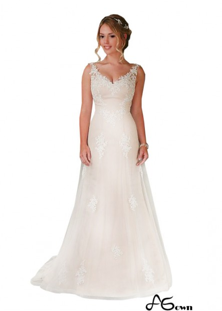 Agown Lace Wedding Dress T801525387361