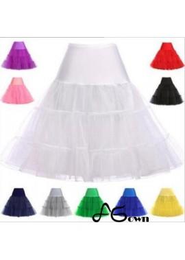 14 colors crystal yarn boneless skirt rock and roll skirt pettiskirt skirt wedding Petticoat T901554174392
